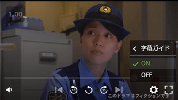 Hulu字幕・吹替字幕ガイド設定